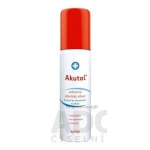 Akutol spray plastický obväz ochranný, sprej s hnacím plynom, 1x60 ml vyobraziť