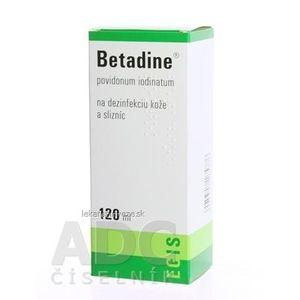 Betadine dezinfekčný roztok 100 mg/ml sol der (fľ.plast.) 1x120 ml vyobraziť