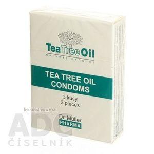 Dr. Müller Tea Tree Oil KONDOM 1x3 ks vyobraziť