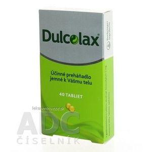 Dulcolax tbl ent 5 mg (blis.) 1x40 ks vyobraziť
