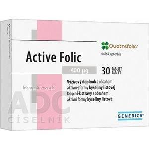 GENERICA Active Folic tbl 1x30 ks vyobraziť