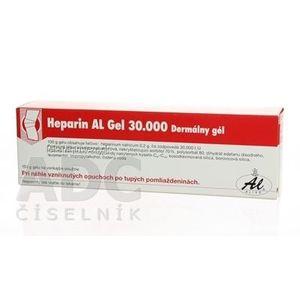 Heparin AL Gel 30 000 gel (tuba Al) 1x100 g vyobraziť