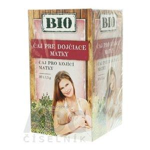 HERBEX BIO TEA PRE KOJACE MATKY bylinný čaj 20x1, 5 g (30 g) vyobraziť