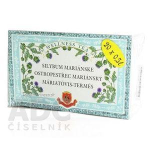 HERBEX SILYBUM MARIANSKE bylinný čaj 20x3 g (60 g) vyobraziť