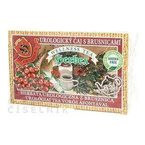 HERBEX UROLOGICKÝ ČAJ S BRUSNICAMI bylinný čaj 20x3 g (60 g) vyobraziť