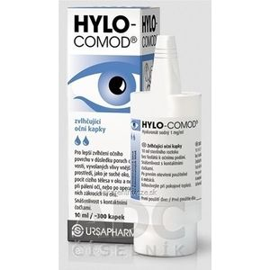 HYLO COMOD zvlhčujúce očné kvapky 1x10 ml vyobraziť