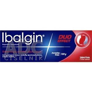 Ibalgin DUO EFFECT crm der (tuba Al) 1x100 g vyobraziť