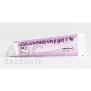 Indometacínový gél 1 % gel (tuba laminát.) 1x100 g vyobraziť