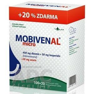 MOBIVENAL micro tbl flm 100+20 zadarmo (120 ks) vyobraziť