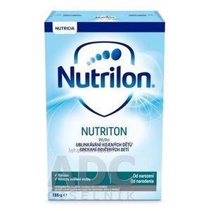 Nutrilon 1 NUTRITON (od narodenia) prídavok do mat. mlieka pri grckaní kojených detí, 1x135 g vyobraziť
