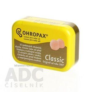 OHROPAX CLASSIC Ušné vložky v krabičke 1x12 ks vyobraziť