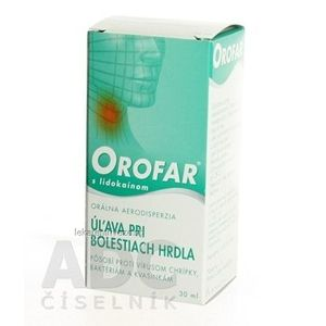 OROFAR AER ORA 1X30ML vyobraziť