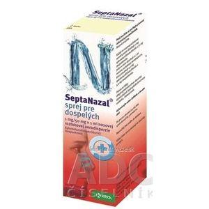 Septanazal sprej pre dospelých aer nao (fľ.HDPE s rozpr.) 1x10 ml vyobraziť
