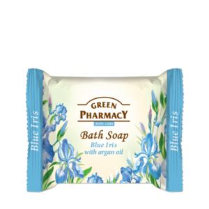 Green Pharmacy Krémové mydlo Modrý iris s arganovým olejom 100g vyobraziť