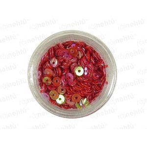 Zdobenie na nechty, kolieska (duté) CDčka - červené vyobraziť