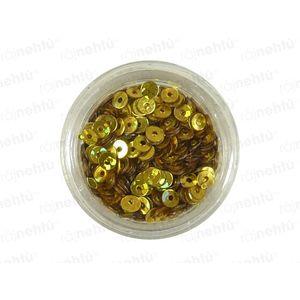 Zdobenie na nechty, kolieska (duté) CDčka - zlaté vyobraziť