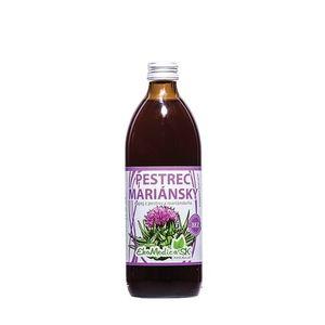 EKOMEDICA Pestrec mariansky nápoj 500ml vyobraziť