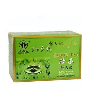 Zelený čaj Tian Hu Shan porciovaný TEA MARKET 2x20g vyobraziť