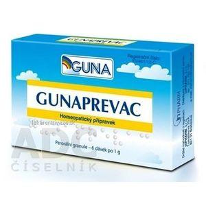GUNAPREVAC pil dds (tuba PP/PE) 6x1 g vyobraziť