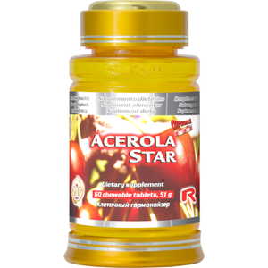 Acerola star - vitamín C vyobraziť