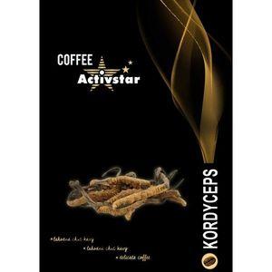 Káva s hubou Cordyceps vyobraziť