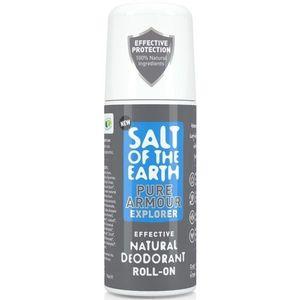 Prírodný kryštálový deodorant PURE ARMOUR - EXPLORER - ROLL ON 75ml vyobraziť