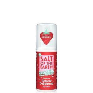 Prírodný kryštálový deodorant PURE AURA - jahoda - sprej 100ml vyobraziť