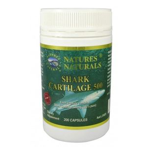 SHARK CARTILAGE 500 - Žraločia chrupavka 200 kapsúl vyobraziť