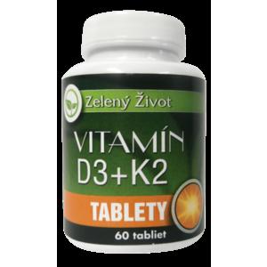 Vitamín D3 + K2, 60 tbl. vyobraziť