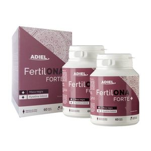ADIEL FertilONA FORTE plus - Vitamíny pre ženy 2x60 kapsúl vyobraziť