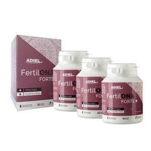 ADIEL Trojbalenie FertilONA forte plus – Vitamíny pre ženy 3 x 60 kapsúl vyobraziť
