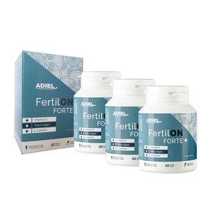 ADIEL Trojbalenie FertilON forte plus – Vitamíny pre mužov 3x60 kapsúl vyobraziť