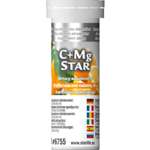 Výživové doplnky - C + Mg Star vyobraziť