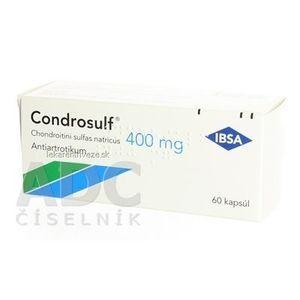 Condrosulf 400 mg cps (blis.PVC/Al) 1x60 ks vyobraziť