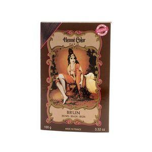 Henné Color Paris Brun Henna Powder, Henné Color 100g - Hnedá vyobraziť