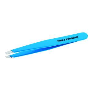 Tweezerman SLANT Blue jewel pinzeta modrý klenot vyobraziť