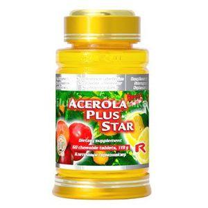 Acerola plus star - vitamín C 500mg vyobraziť