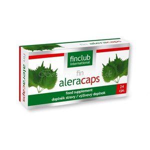Aleracaps prírodné lieky na alergiu vyobraziť