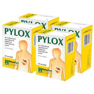 PYLOX Helicobacter Pylori 4ks vyobraziť