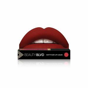 Beauty Boulevard Rúž Mattitude Lip Liquid - Damn Fine vyobraziť