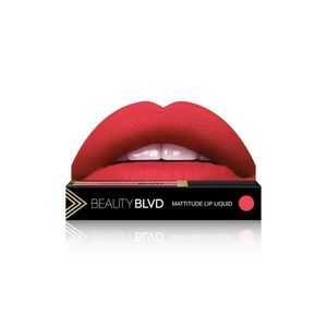 Beauty Boulevard Rúž Mattitude Lip Liquid - Tansy vyobraziť