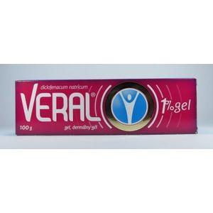 Veral gel 1 % 100 g vyobraziť