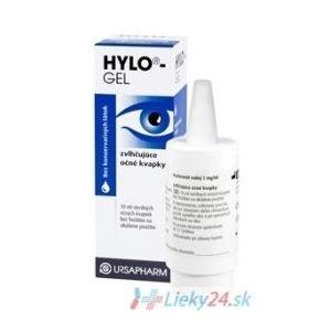 Hylo-Gel očné kvapky 10ml vyobraziť