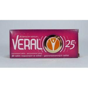 VERAL 25 mg 30 tbl vyobraziť