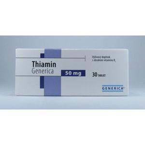 Generica Thiamin 30 tbl vyobraziť