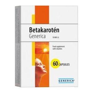 Betakarotén Generica 60 cps vyobraziť