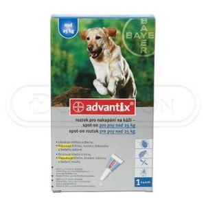 Advantix Spot On pre psy 25-40 kg 1x4 ml vyobraziť