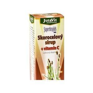 JutaVit Skorocelový sirup + vitamín C 300 ml vyobraziť