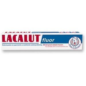 Lacalut Fluor zubná pasta 75 ml vyobraziť