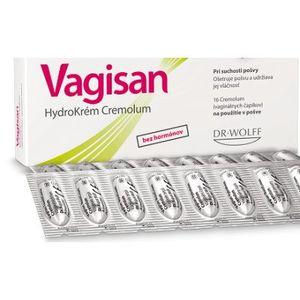 Vagisan HydroKrém Cremolum vaginálne čapíky 16ks vyobraziť